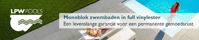LPW Ceramic Pools - Keramische monoblok zwembaden al meer dan 50 jaar geproduceerd in Belgïe
